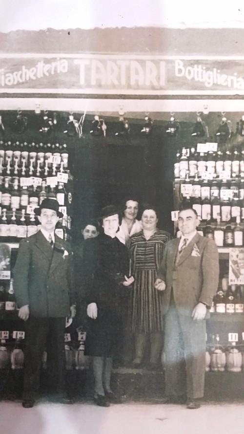 Foto storica dell'Antica Fiaschetteria S. Stefano