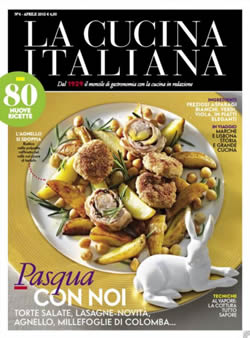 La cucina italiana mensile di gastronomia in edicola for Riviste cucina