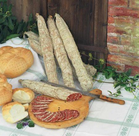Salame di Felino IGP (Fonte immagine: Parma – Musei del Cibo).