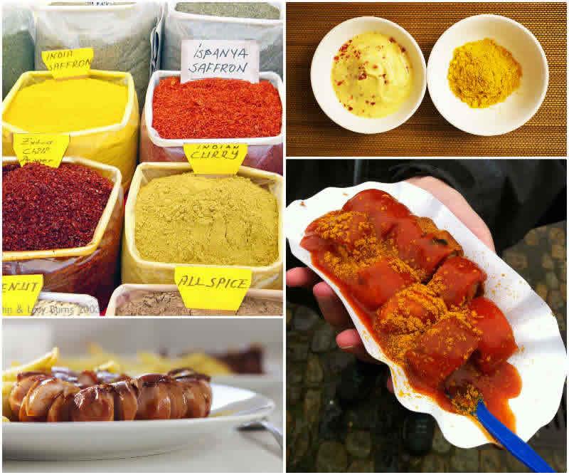 Curry-e-Currywurst-una-ricetta-in-cui-si-usa