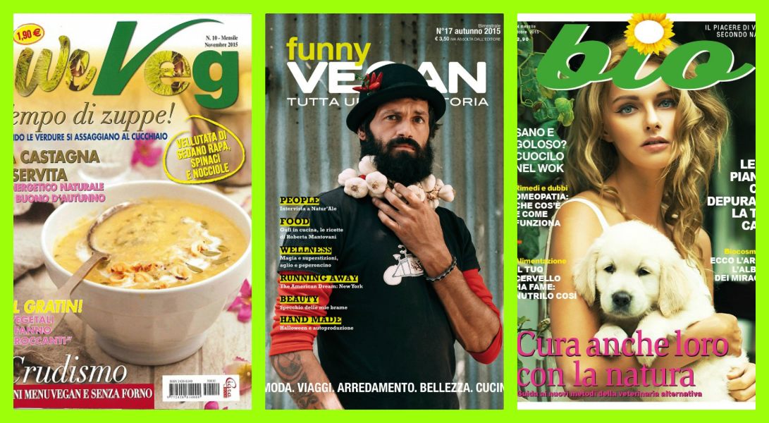 Riviste vegane su biologico e sulla cucina naturale for Riviste cucina