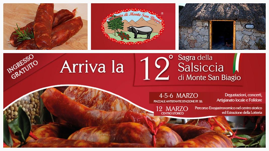 La Sagra della Salsiccia di Monte San Biagio, un viaggio tra bontà, tradizioni e folklore