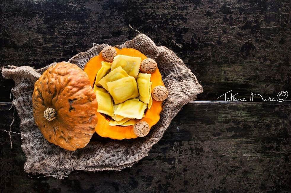 © Ravioli di zucca, di Tatiana Mura