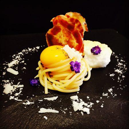 Carbonara-destrutturata-Chef-Andrea-Fugnanesi