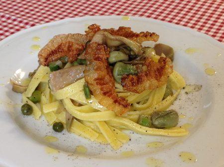 Fettuccine-alla-Vignarola