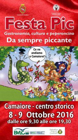 Festa PIC 2016, Camaiore