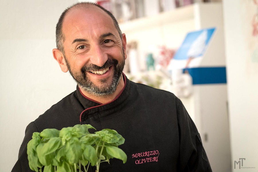 Chef Mauro Olivieri. Maury Chef