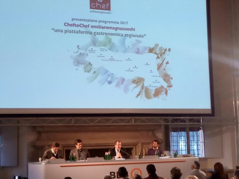 CheftoChef, il programma 2017 presentato a Bologna