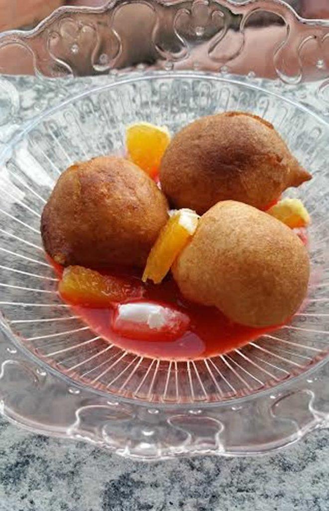 Frittelle di Carnevale leggere con gli alimenti funzionali