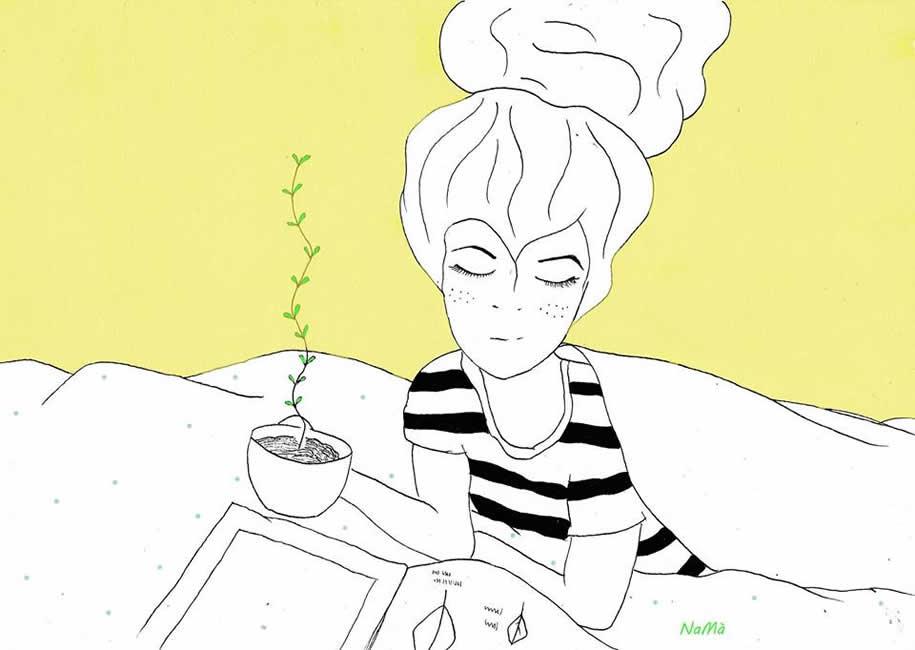 La Pentola del tè a Bologna, Mostra Namà