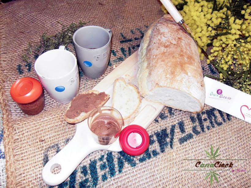 CanaCiok: Olio di canapa nella cioccolata spalmabile