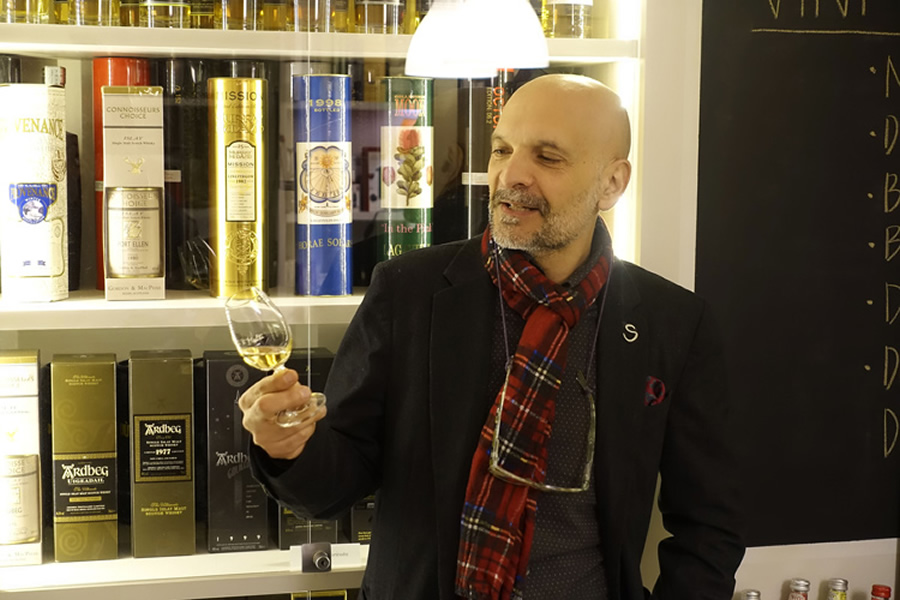 Pino Perrone, Spirit of Scotland - Rome Whisky Festival