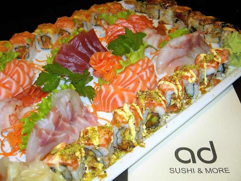 Il menu AD Sushi & More Milano Porta Vittoria