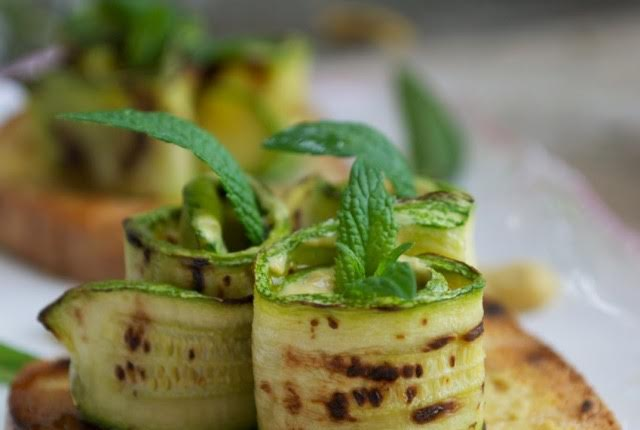 Zucchine grigliate di Claudia Tiberti