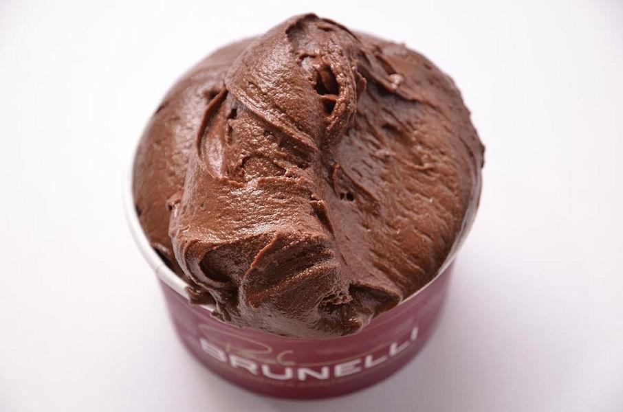 Gelato al cioccolato di Paolo Brunelli di Senigallia