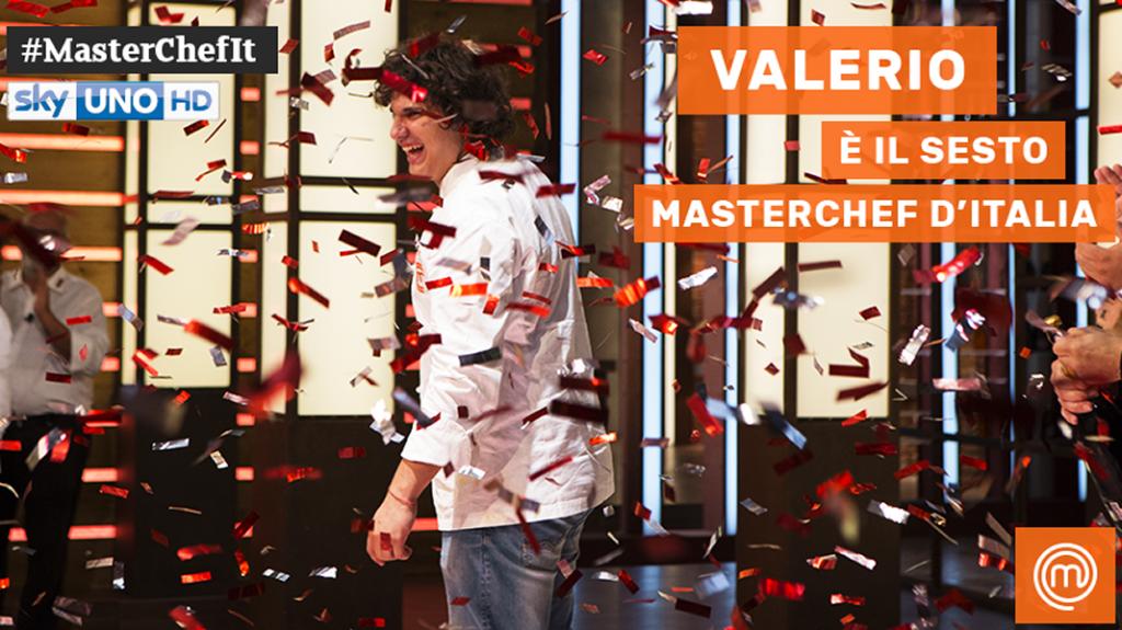 Masterchef 6: vince Valerio Braschi