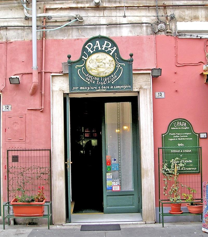 Osteria u Papa, Imperia Oneglia, la recensione