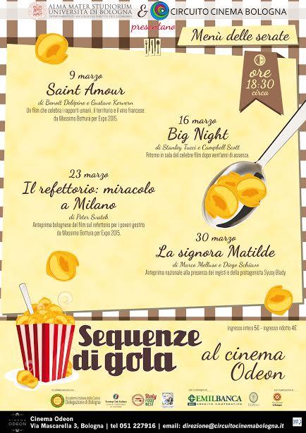 Sequenze di gola 2017, Bologna, Cinema Odeon