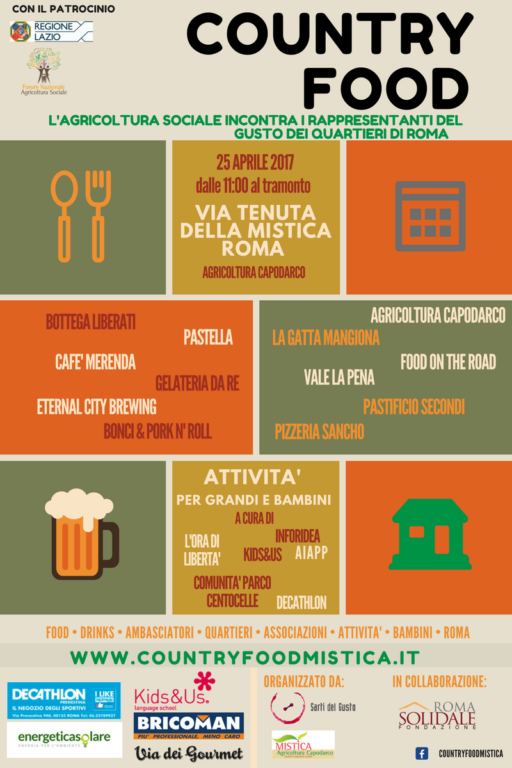 Country Food Roma 2017
