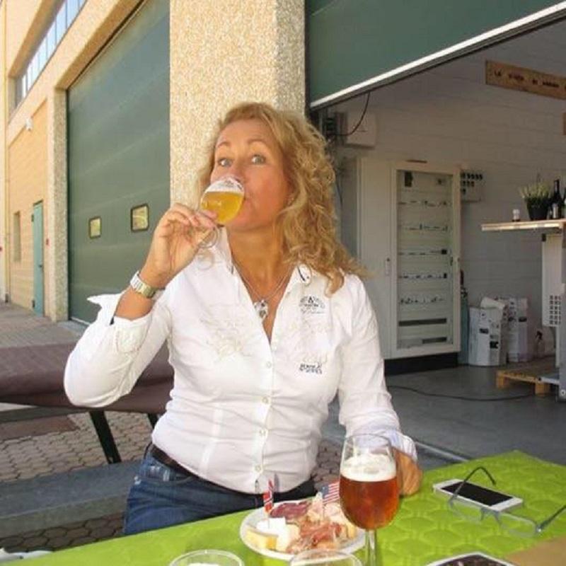 Elvira Ackermann, presidente Le Donne della Birra