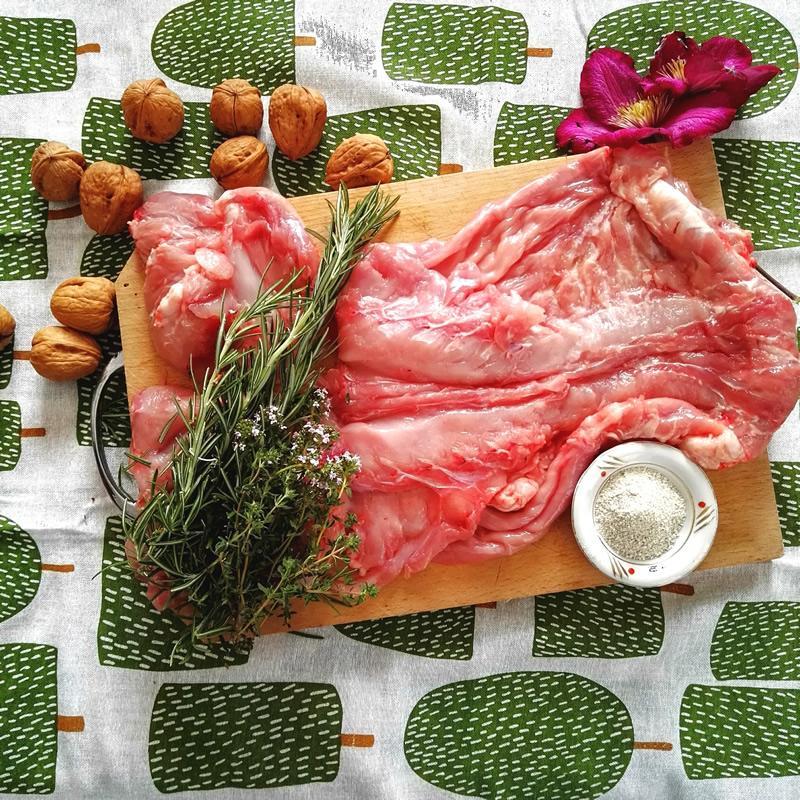 Ricetta Coniglio alla ligure, gli ingredienti