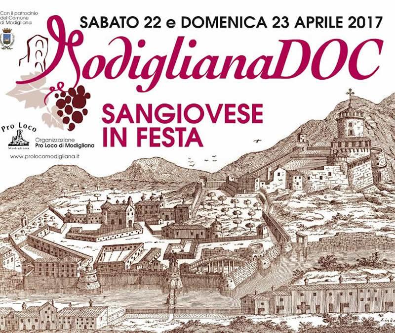ModiglianaDOC 2017 - Sangiovese in festa
