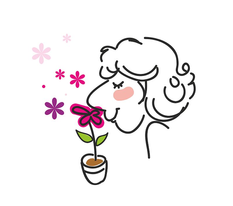 profumi floreali del vino in primavera