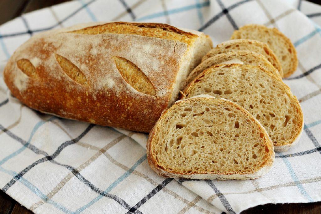 Ricetta Pane con farina buratto e pasta madre