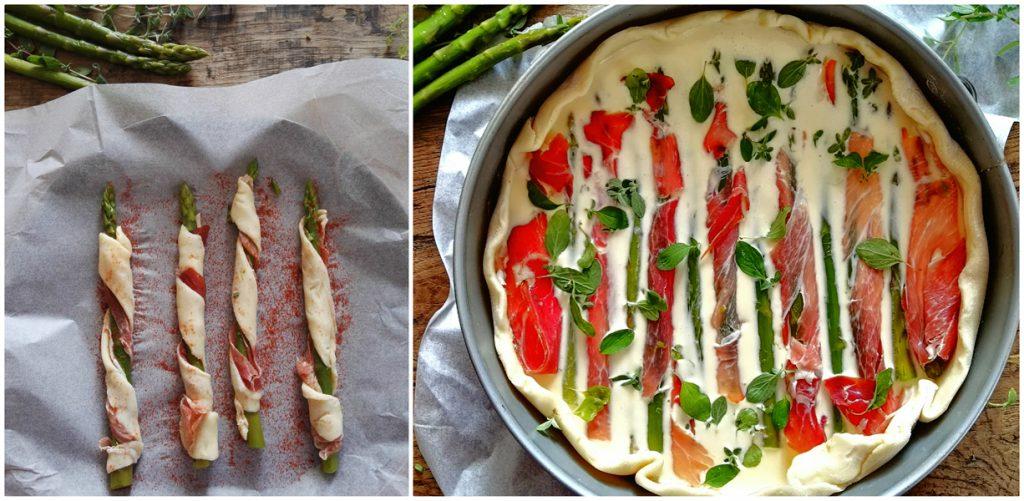 Ricetta Quiche di asparagi e Speck
