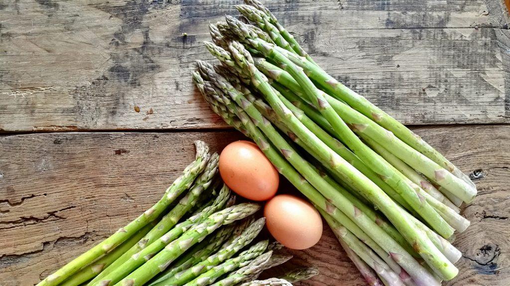 Quiche di asparagi e Speck