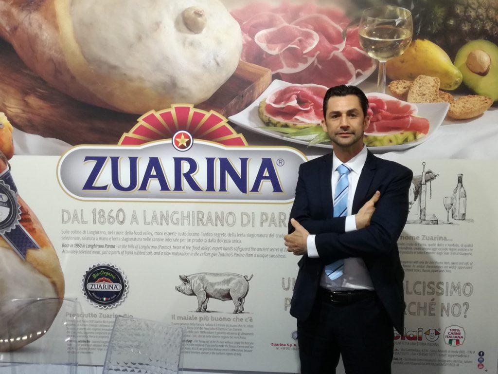 Zuarina di Langhirano, Prosciutto crudo di Parma