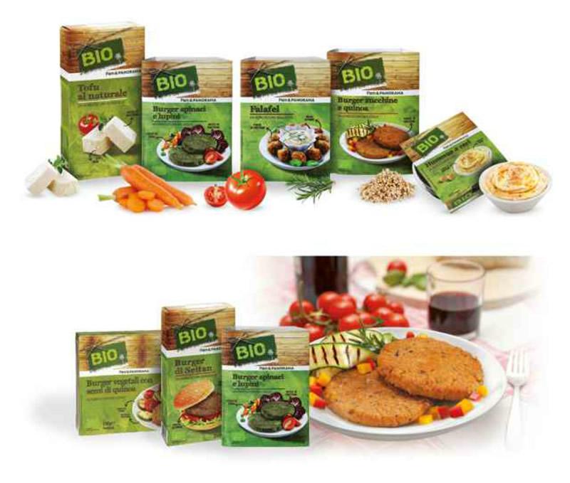 Bio Pam Panorama: prodotti vegetariani
