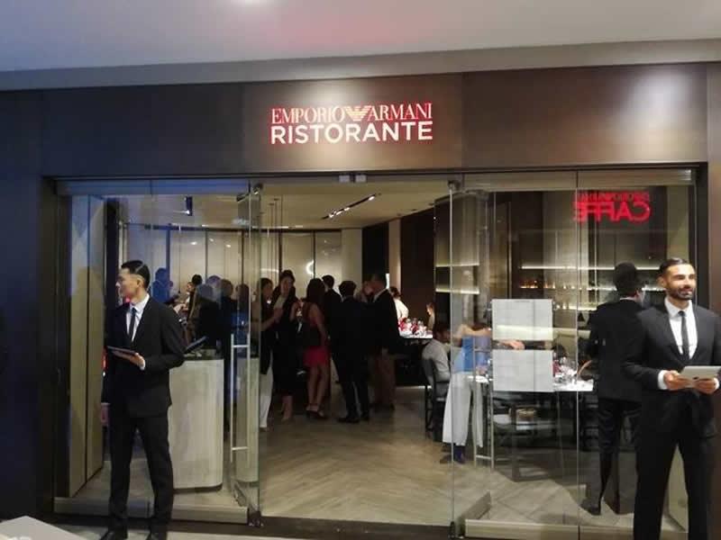 Armani Ristorante a Bologna, Galleria Cavour
