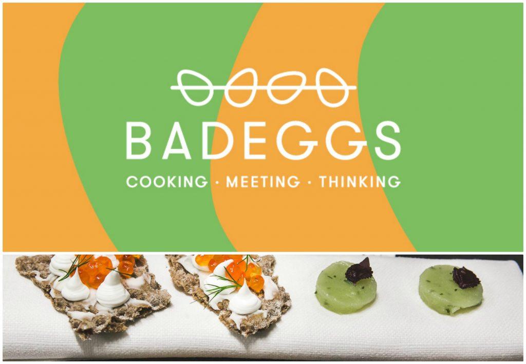 Badeggs, startup per cuochi