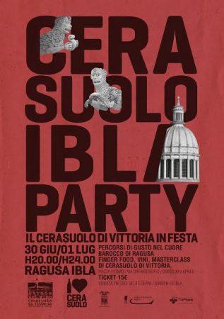 Cersasuolo Ibla party Ragusa: cibo, vino e turismo