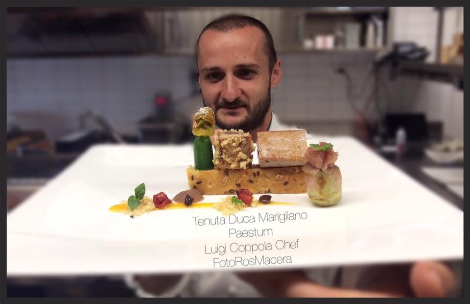Tenuta Duca Marigliano Paestum: intervista allo chef Luigi Coppola