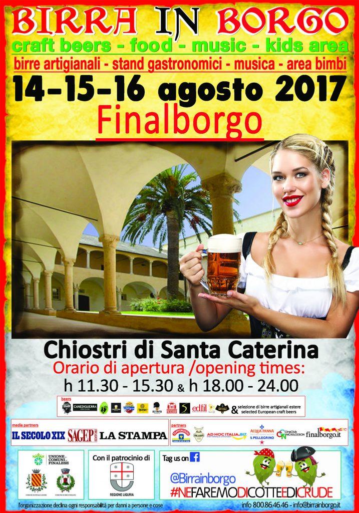 Birra in Borgo a Finalborgo: date e programma