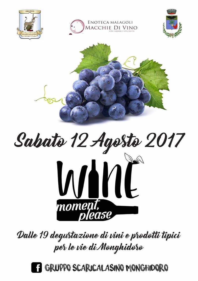 Wine Moment Please Monghidoro - Degustazione