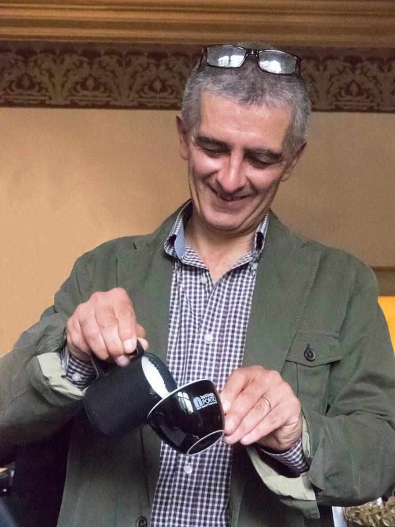 Corso di caffetteria a Bologna con Manuel Terzi