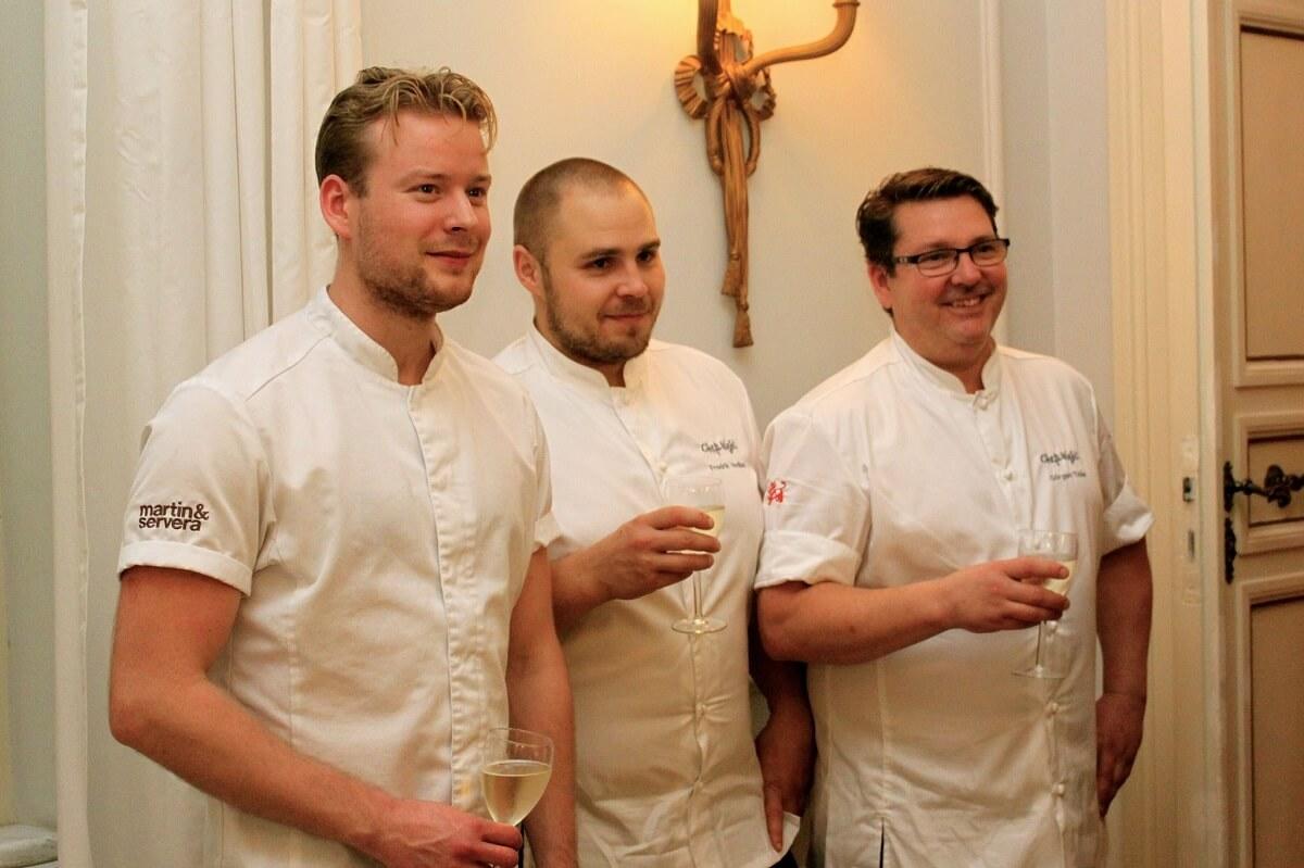 Chefs' Night Sapori di Dalarna, la cena a Roma