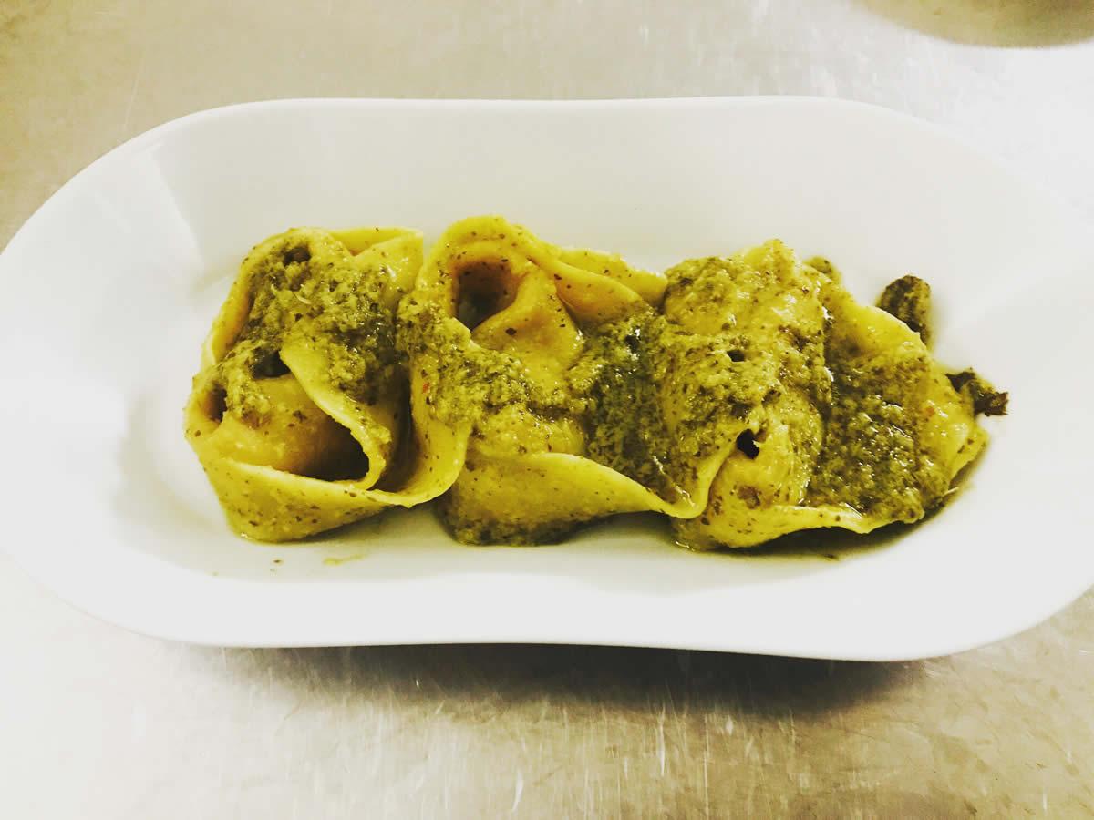 Ricetta Tortelloni con castagne e salsiccia