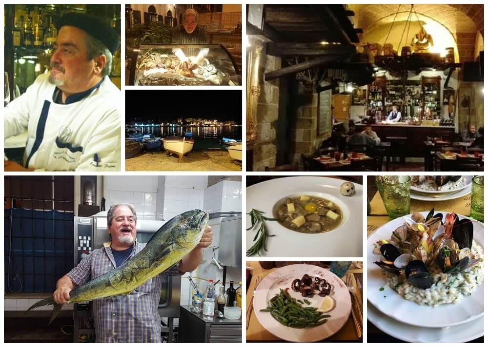 Brindisi: Pasticceria Gelateria Variety e Antica Osteria La Sciabica
