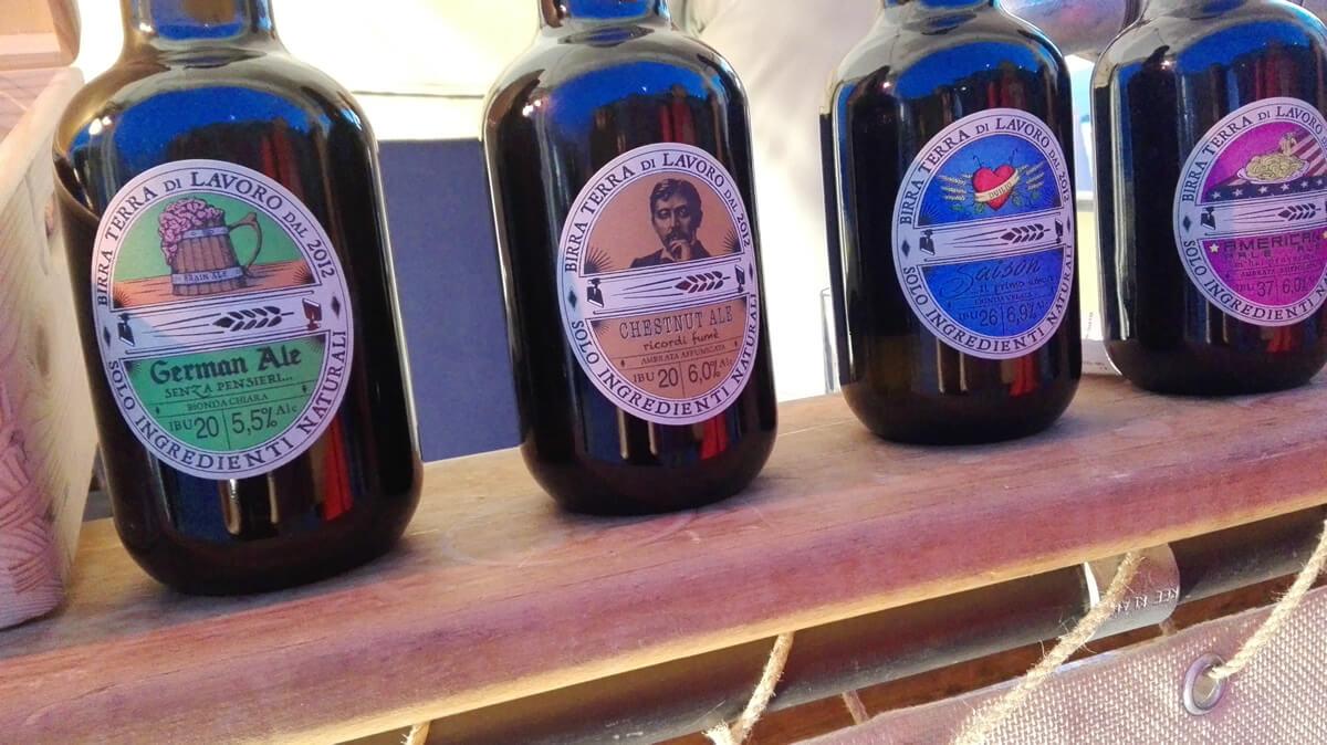 Birra Terra di Lavoro, birrificio artigianale