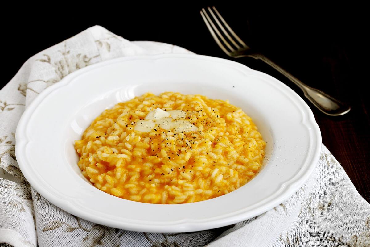 Ricetta Risotto alla zucca con toma del Lago Nero