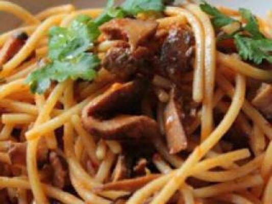 Spaghetti ai 5 cereali con Rositi della Sila