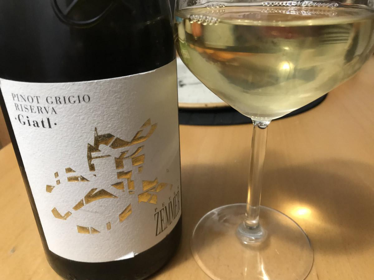 Pinot grigio Riserva Giatl - Tenuta Peter Zemmer