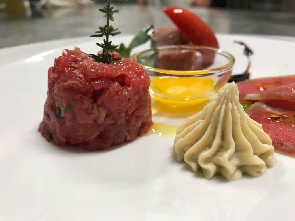 Ristorante da Fausto di Fondi, cena con carni bovine