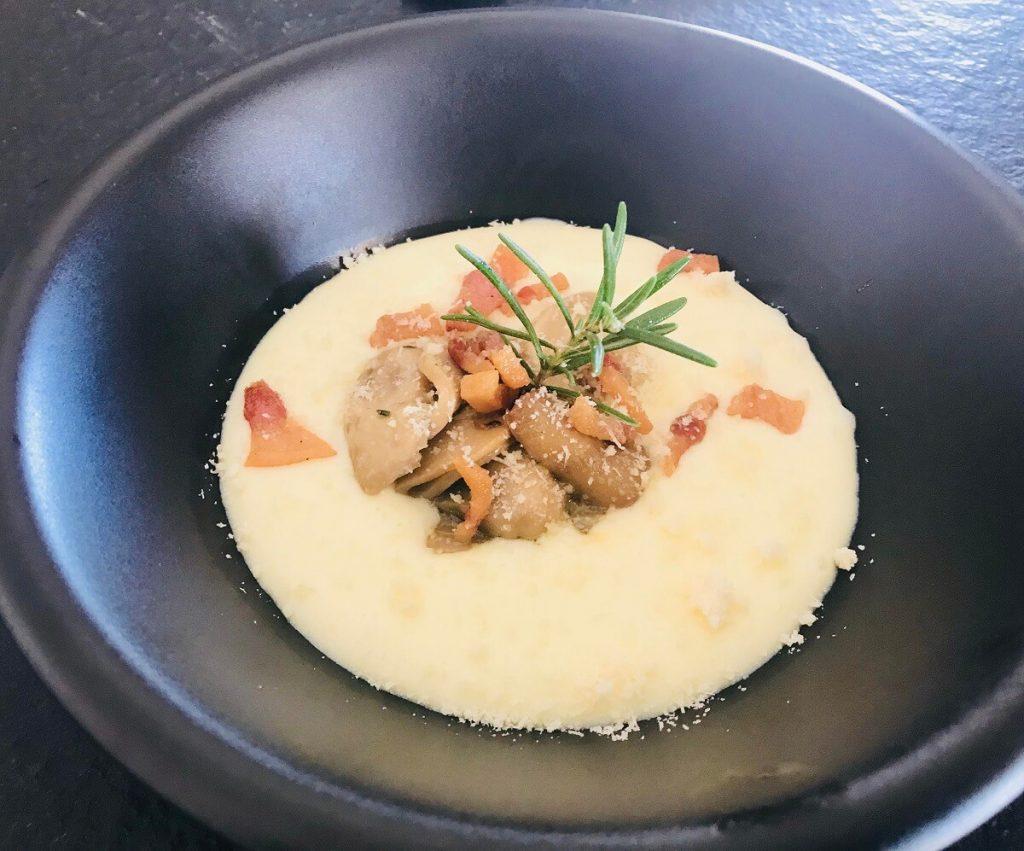 Zuppa di vino bianco dell'Alto Adige, versione calabrese