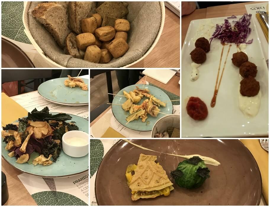 Antipasti Bio's Kitchen Bologna