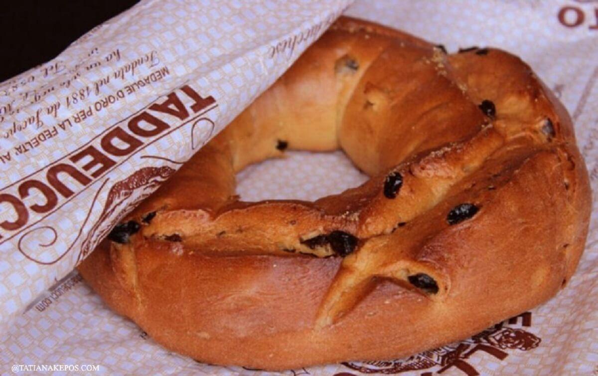 Buccellato di Lucca, storia e ricetta del dolce